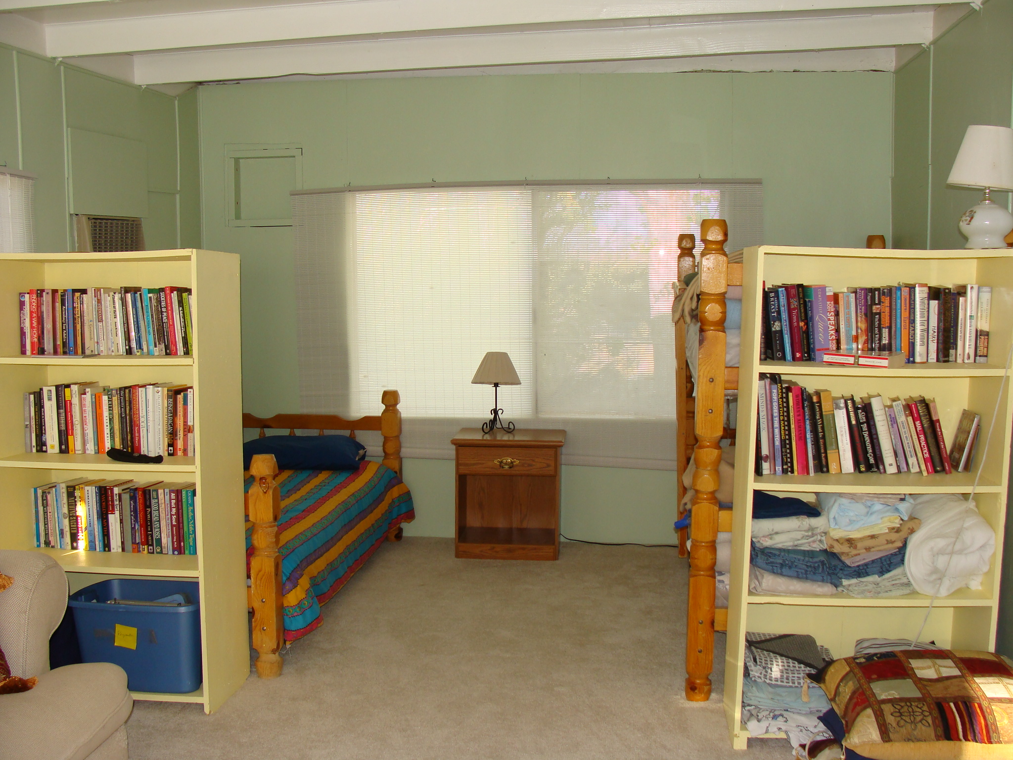 The Maiden Room also has two single beds and two bunk beds