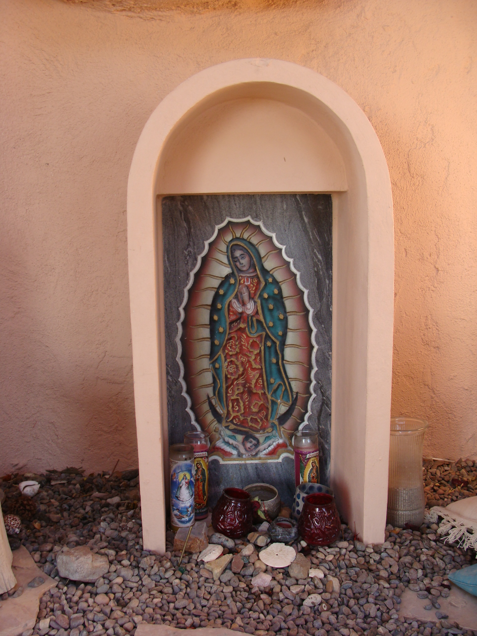 Altar to Our Lady of Guadalupe