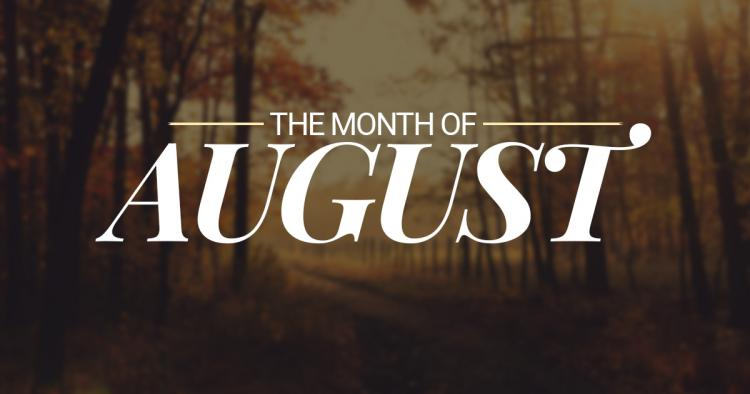 August 2016 Events at the Temple