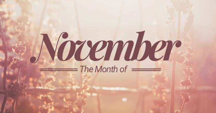 November 2016 Events at the Temple