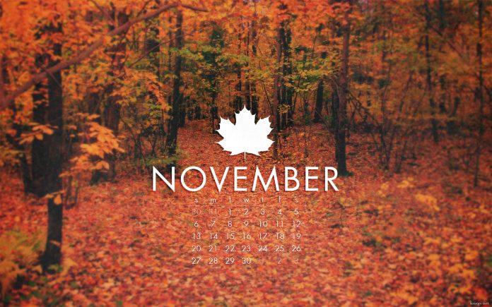 November 2018 Events