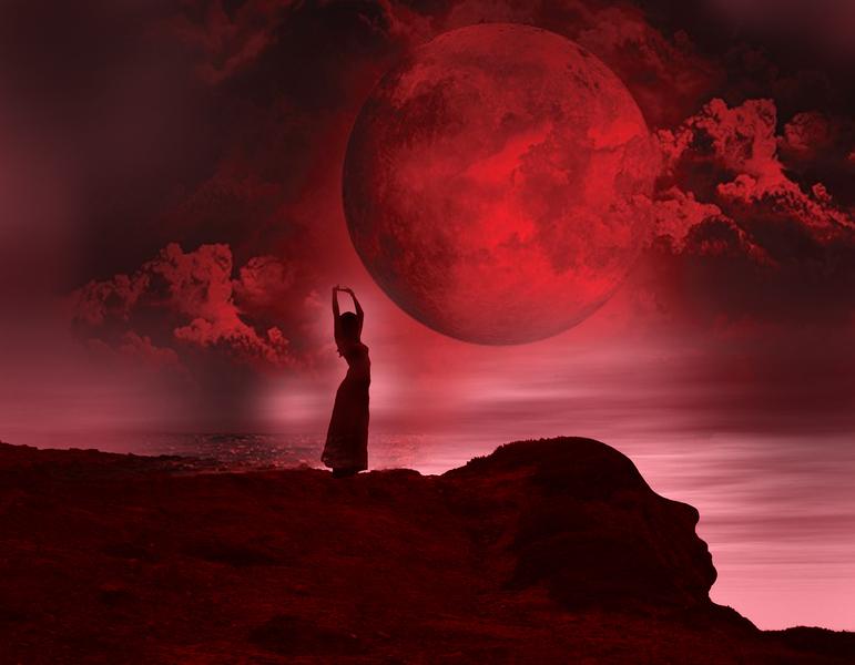 April 2019 Red Moon Circle